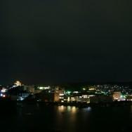 白浜の夜景