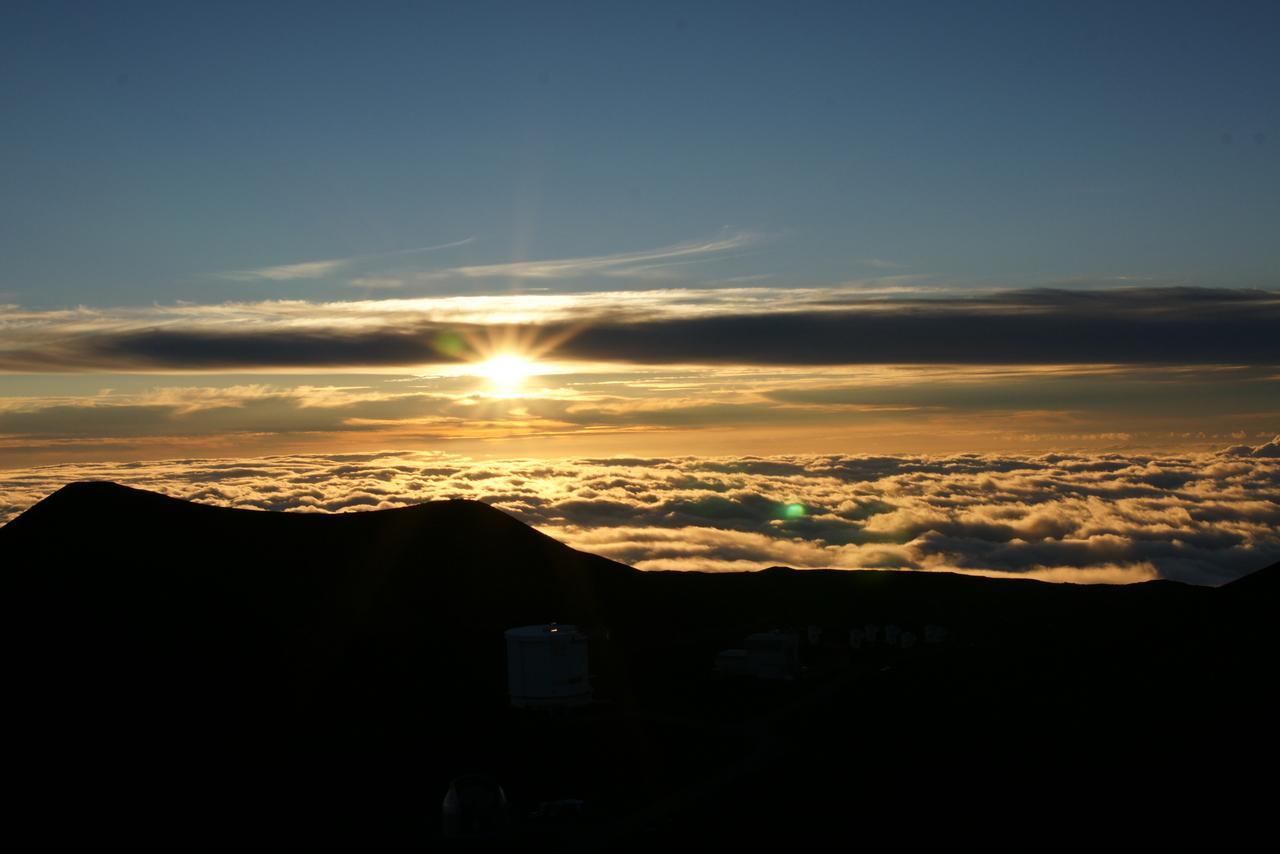 ハワイ島 マウナケア サンセット